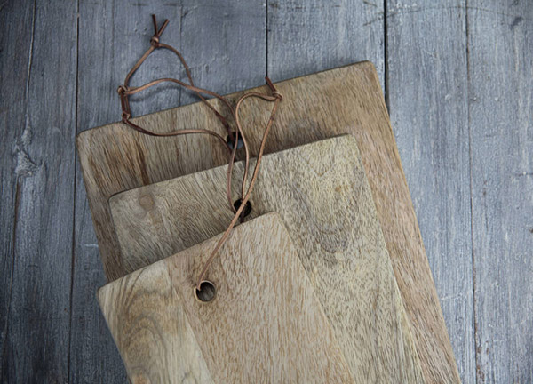 Mango wood chopping boards eco friendly products by Nkuku