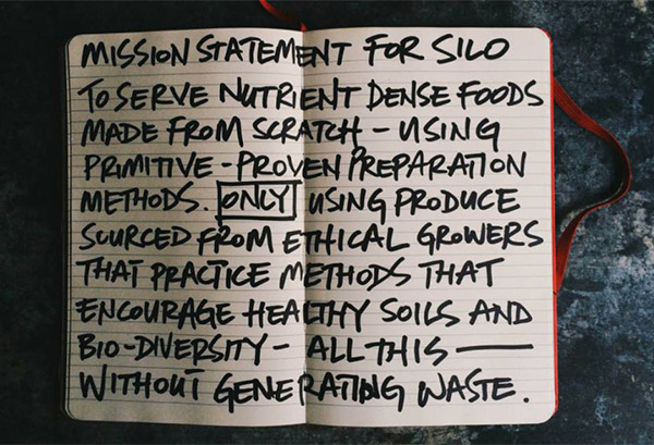 Silo's mission statement