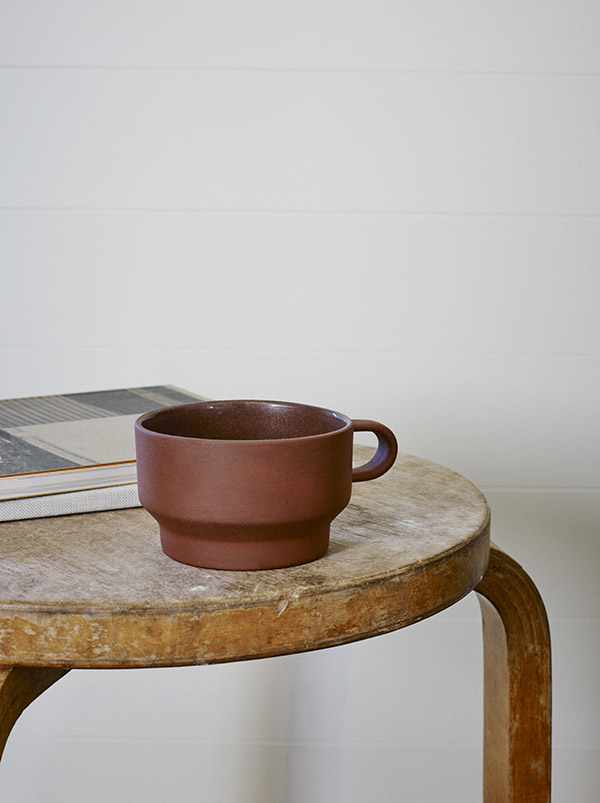 The Edge terracotta mug by Skagerak