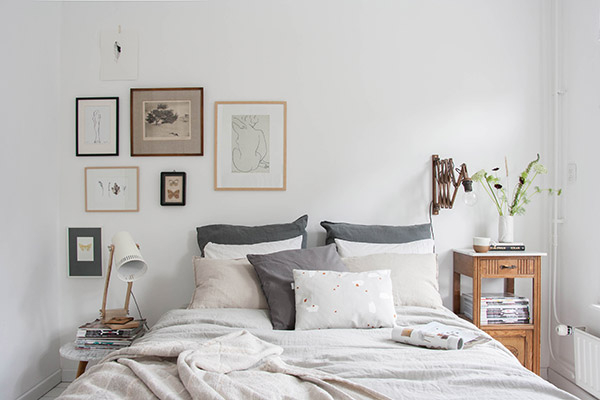 Ideas for decorating the bedroom with neutrals