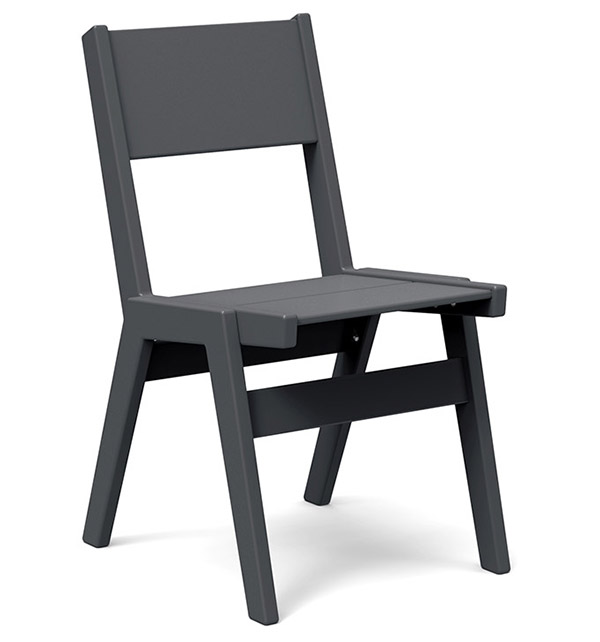 Alfresco dining chair made from recycled materials