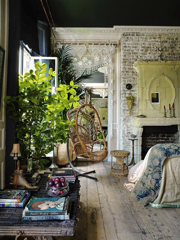 Bohemian interior design 10 rattan pieces for your vintage shopping list upcyclist List of home decor stores