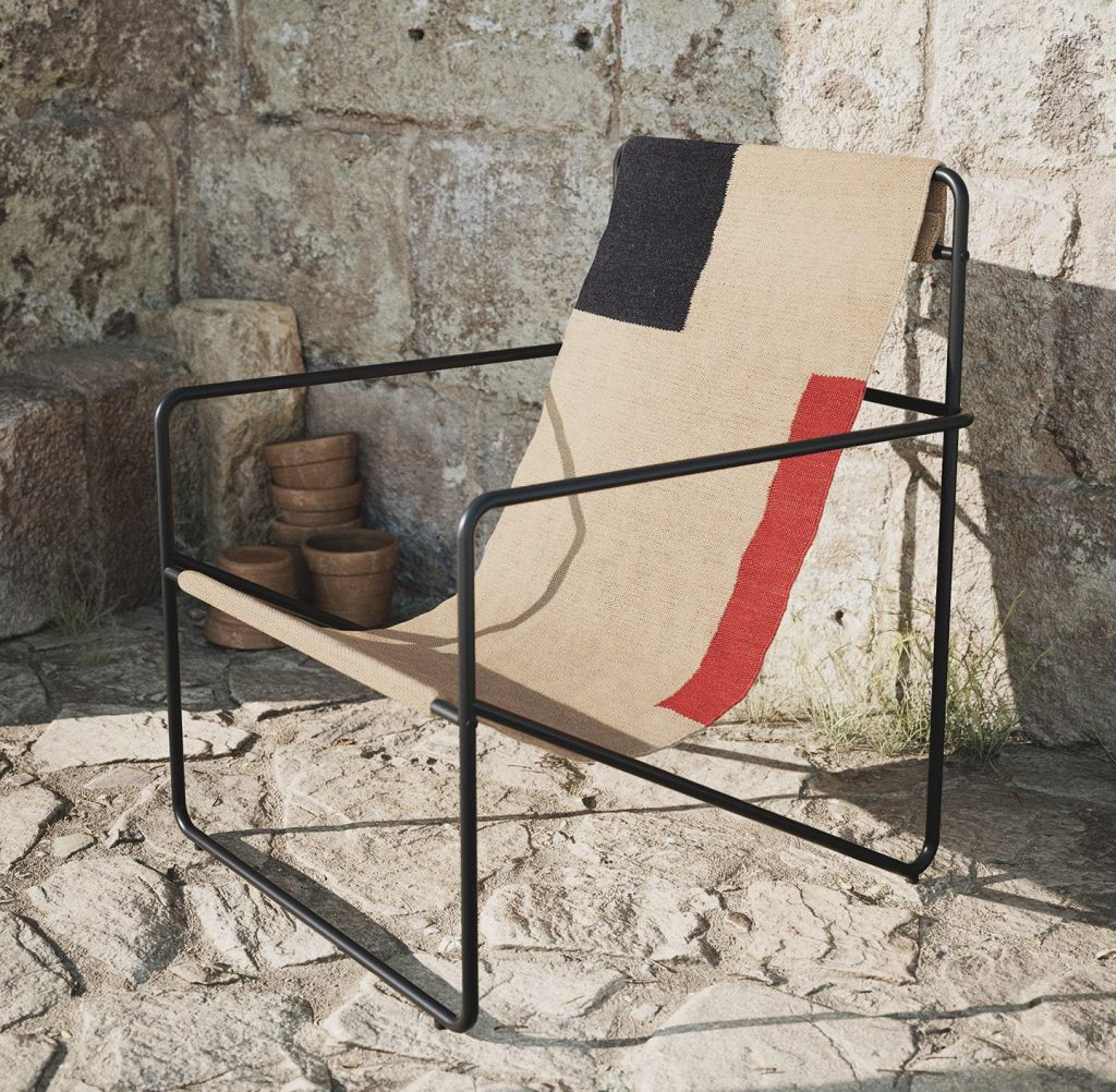Ferm Living recycled plastic garden furniture