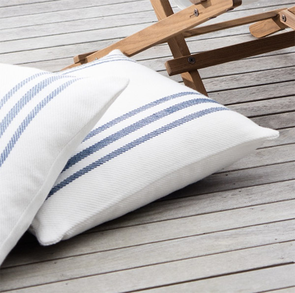 Floor cushions made from recycled plastic