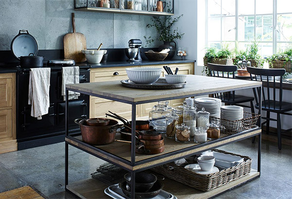 Industrial style kitchen by Neptune