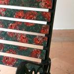 Detail of Dondolo chair by Yukiko Nagai