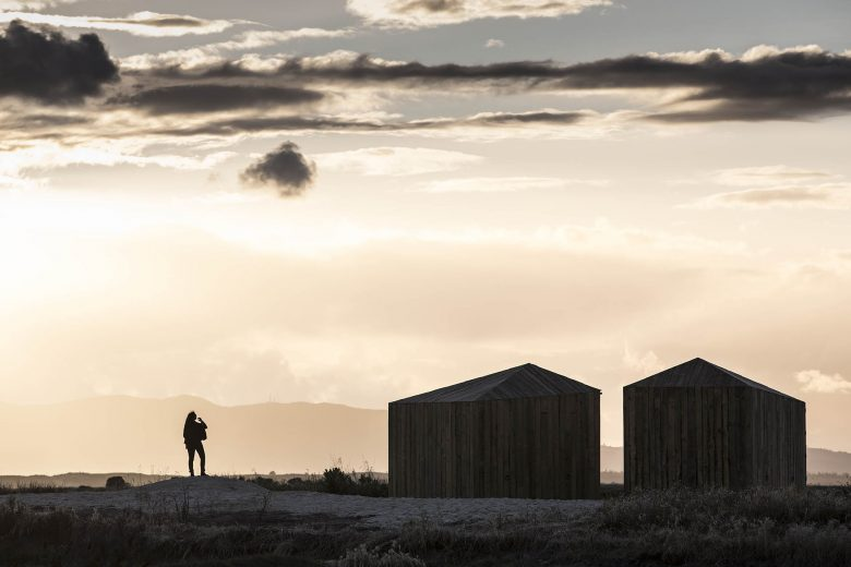 Holiday cabins on the Portuguese coast