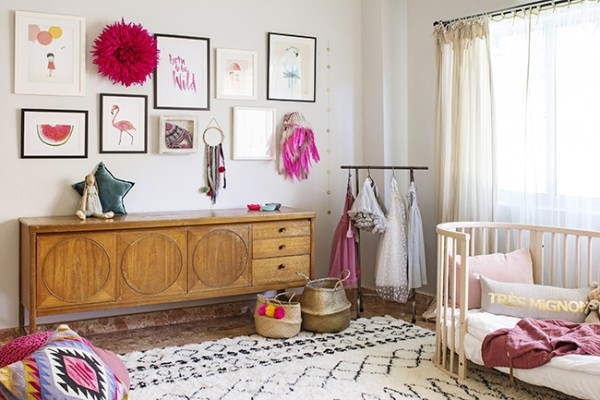 Kids bedroom ideas using vintage furniture