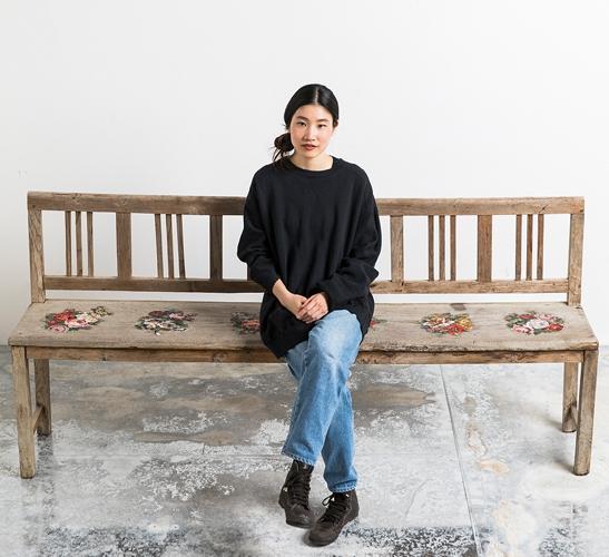 Mosaic artist Yukiko Nagai