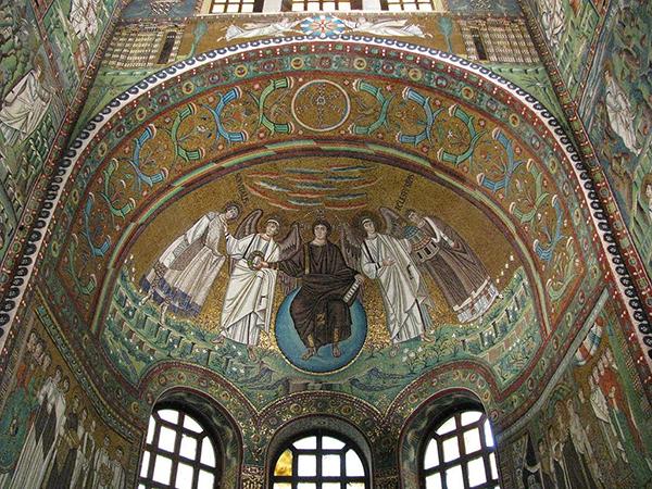 San Vitale mosaic in Ravenna
