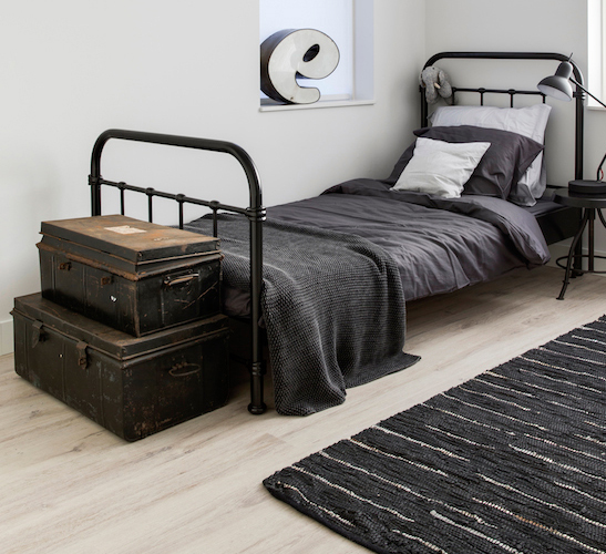 Scandi monochrome bedroom for a teen