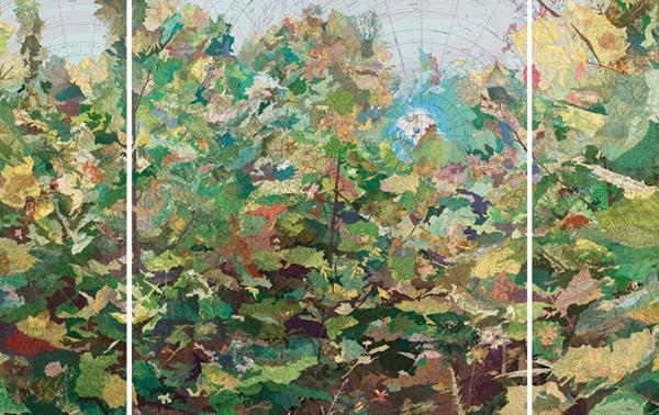 Waldeinsamkeit by Matthew Cusick
