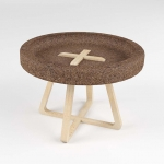 Cork table by Trinta Design