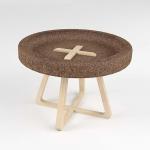 Cork table by Trinta Design