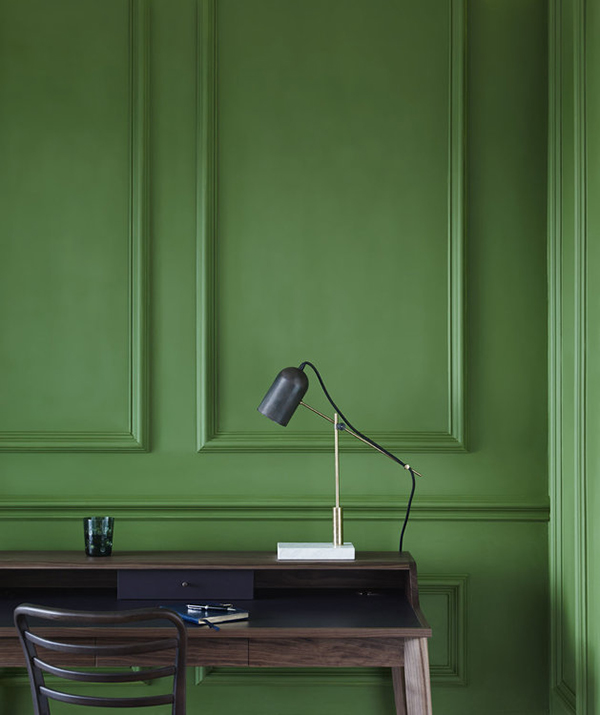 Invisible green eco-friendly paint by Edward Bulmer