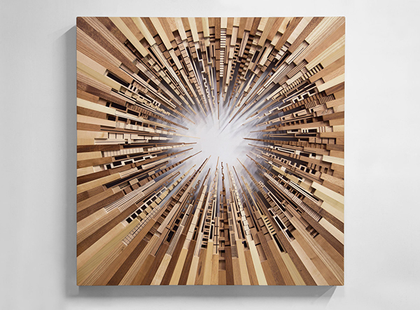 Contemporary wood sculpture by James McNabb