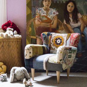 Boho childrens chair by Bokja