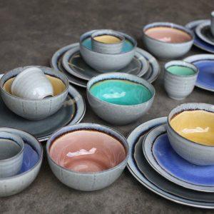 Ceramic bowls by Nkuku