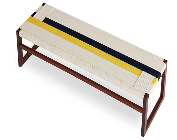 Contemporary bench by Jo Elbourne