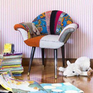 Desert Rose childrens chair by Bokja