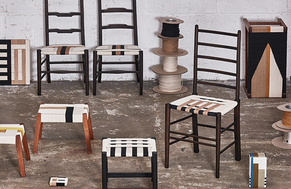 Furniture collection by Jo Elbourne