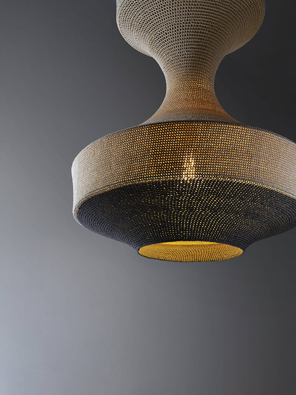Monika contemporary pendant light by Naomi Paul