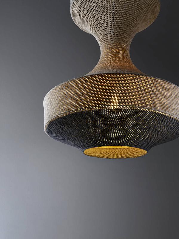 Monika contemporary pendant light by Naomi Paul