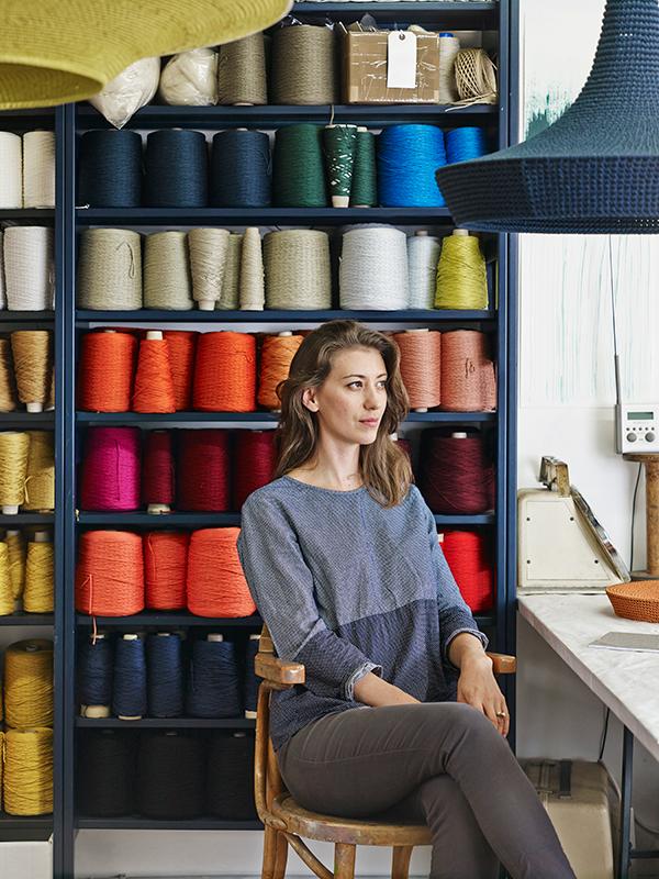 Portrait of designer Naomi Paul