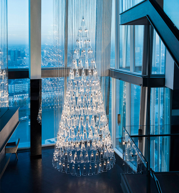 The Tree of Glass zero waste Christmas tree