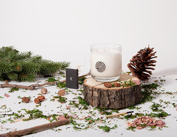Wood Cabin coconut wax scented candle by Keap Brooklyn