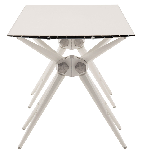 Airtool table by eco friendly furniture brand Pentatonic