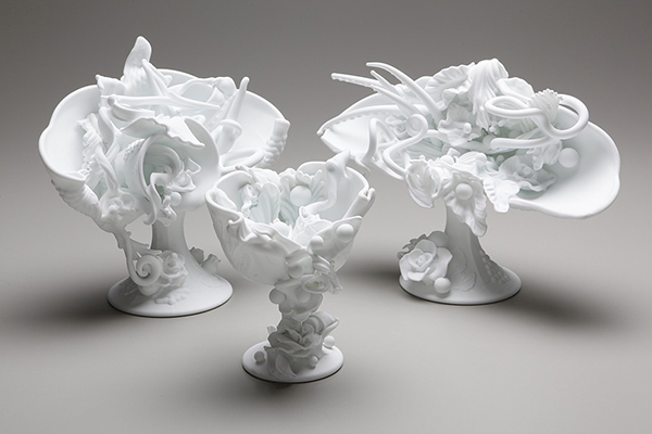 Contemporary sculpture by glass artist Amber Cowan