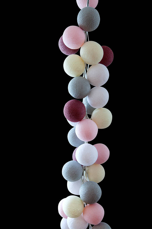 Marshmallow string lights by Cable and Cotton