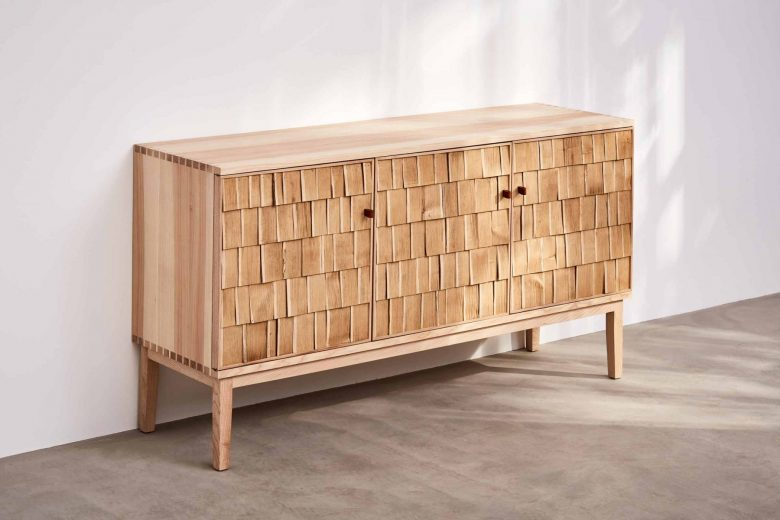 Shake sideboard by Sebastian Cox for Benchmark