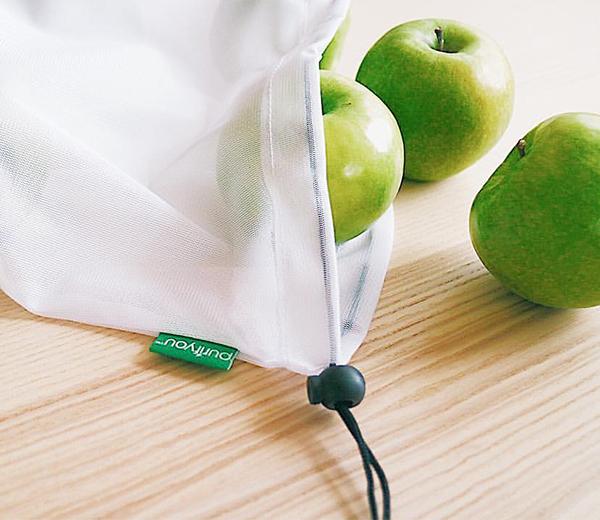 Reusable produce bag for zero waste living