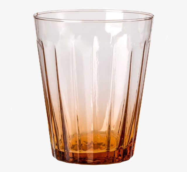 Lucca recycled glass water tumbler