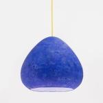 Morph paper mache pendant light by CreaRe