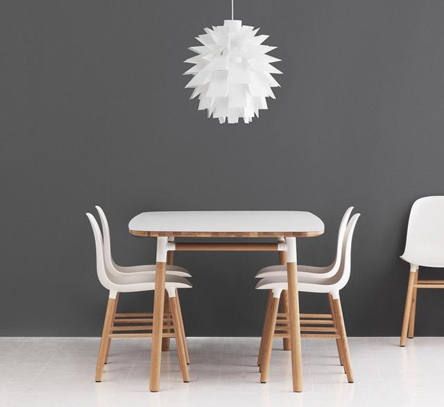 Normann Copenhagen Form Table Rectangular in white