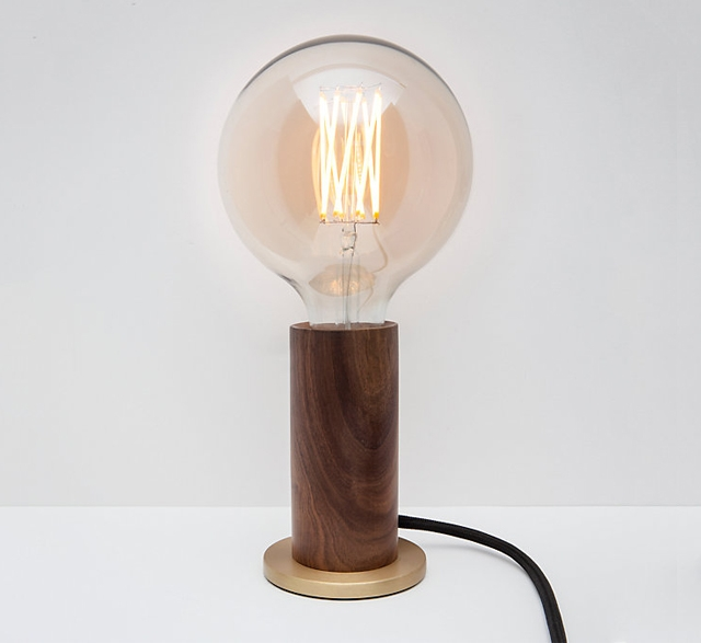 Tala FSC Walnut LED Touch Lamp