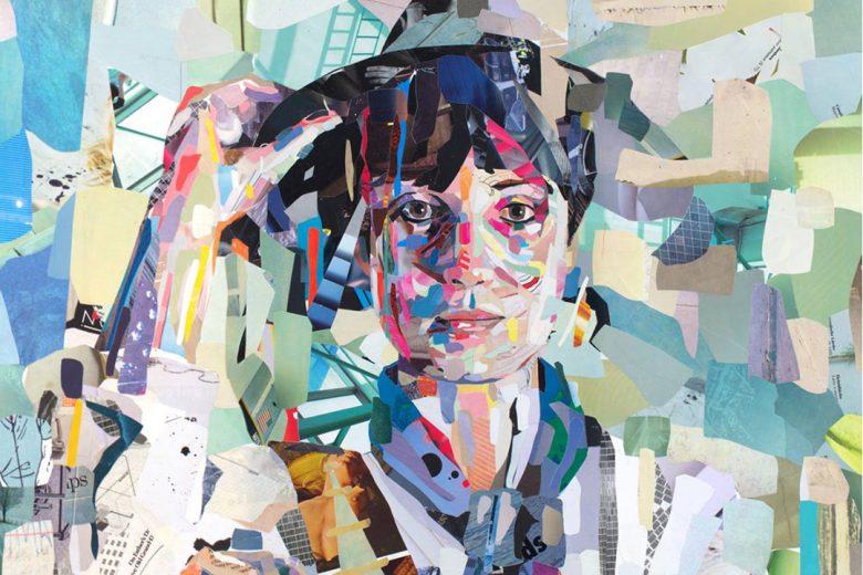 Collage portrait by Patrick Bremer