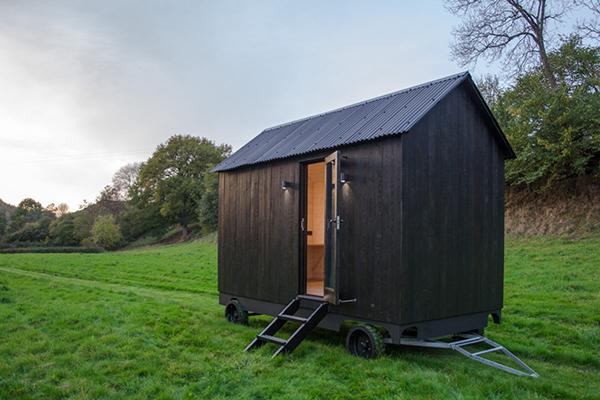 Contemporary mobile cabin
