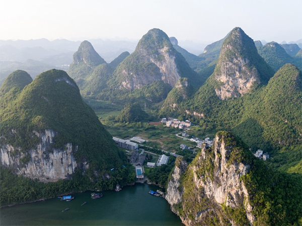 Mountains of Yangshuo County
