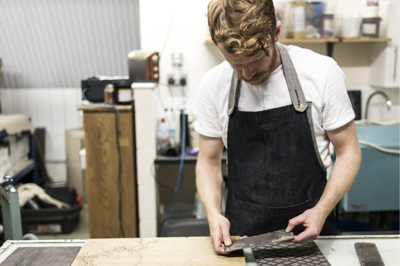 Portrait of London designer maker Daniel Heath