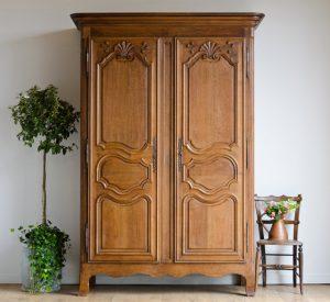19th century antique armoire
