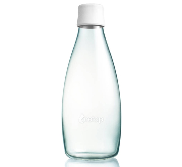 Reusable water bottle by Retap