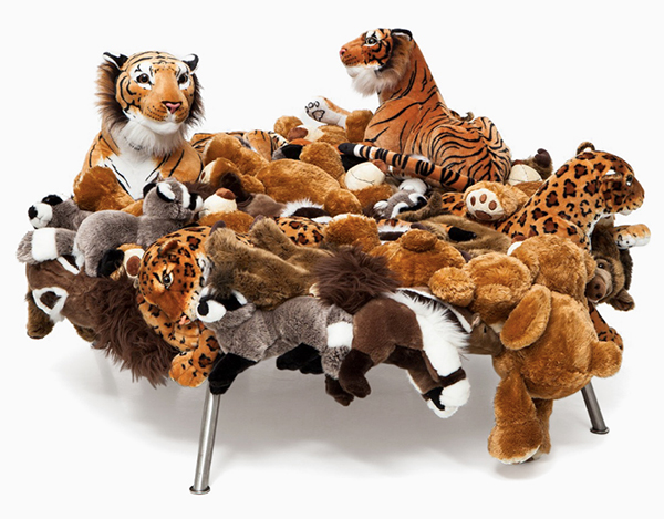 Stuffed animal chair by Campana BrothersStuffed animal chair by Campana Brothers