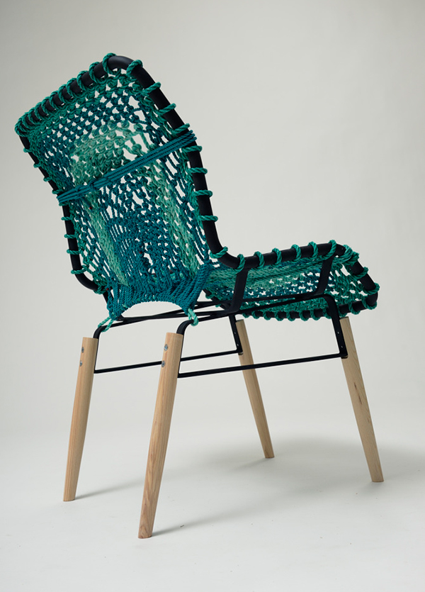 Svartskar chair made from repurposed materials