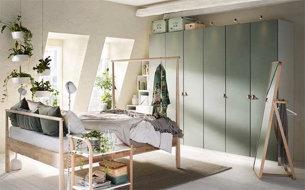IKEA Reinsvoll doors made from recycled PET plastic bottles