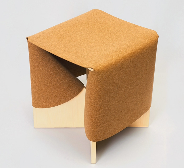 B1 rubbercork stool by Cuco