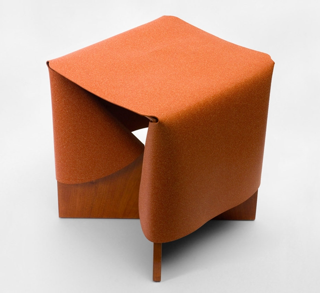 B2 rubbercork stool by Cuco